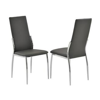 Luna Gray Side Chair