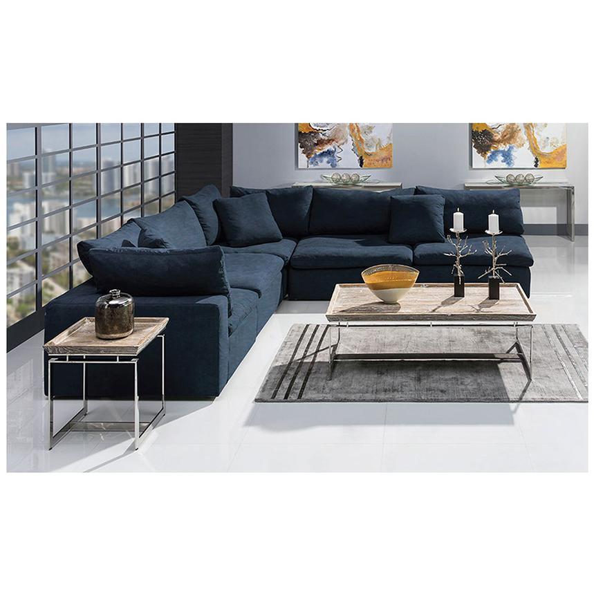 Nube Ii Blue Sofa Alternate Image 2 Of 8 Images