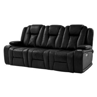 Chanel Black Power Motion Sofa