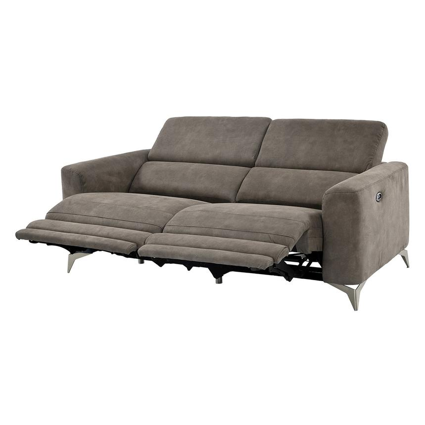 Piera Gray Power Motion Sofa  alternate image, 2 of 11 images.