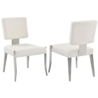 Tina White Side Chair