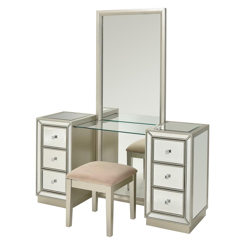 Uribia Vanity w/Bench  main image, 1 of 8 images.