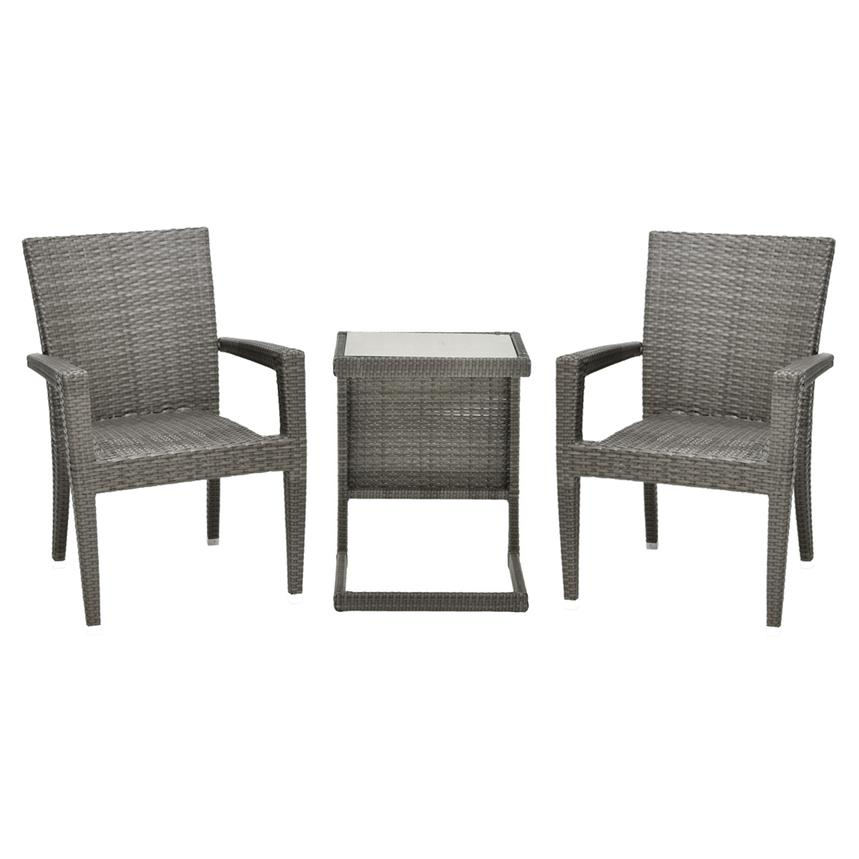 Neilina Gray 3-Piece Patio Set  main image, 1 of 10 images.