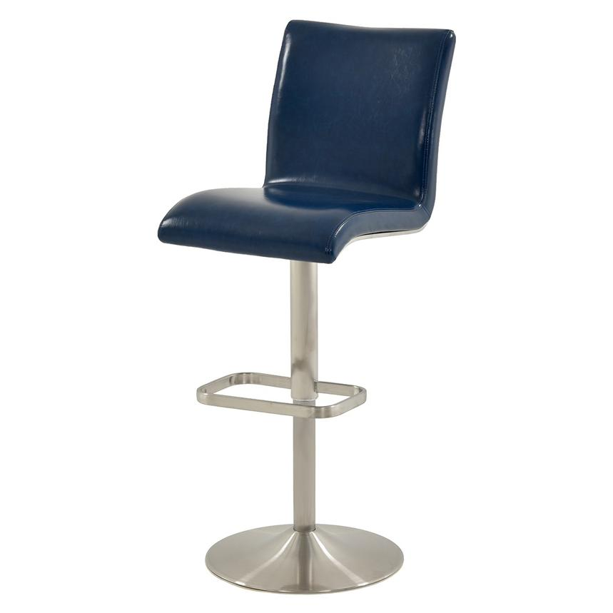 Fogo Blue Adjustable Stool  alternate image, 2 of 6 images.