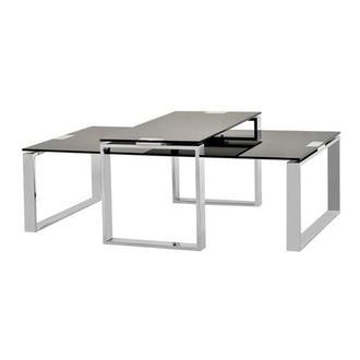 Katrine Black Coffee Table Set of 2  sc 1 st  El Dorado Furniture & Living Rooms - Coffee Tables | El Dorado Furniture