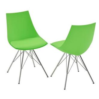 Annette II Green Side Chair