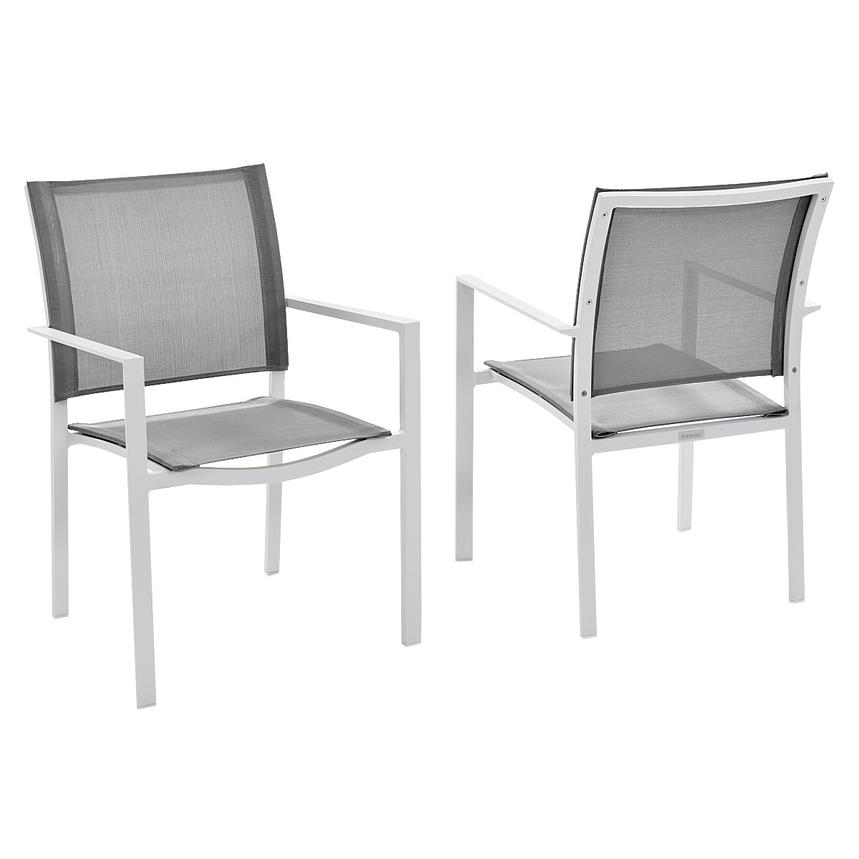 Mykonos Gray 3-Piece Patio Set  alternate image, 6 of 9 images.