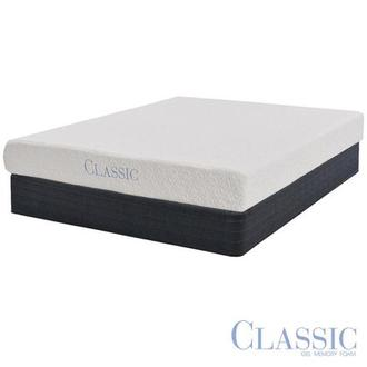 Ashbourne Memory Foam Full Mattress Set w/Low Foundation by Classic Brands