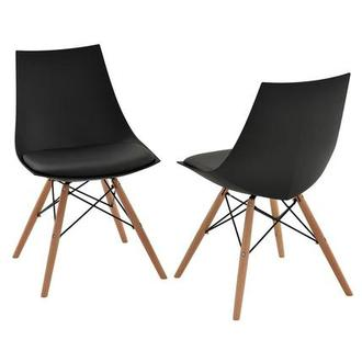 Annette Black Side Chair