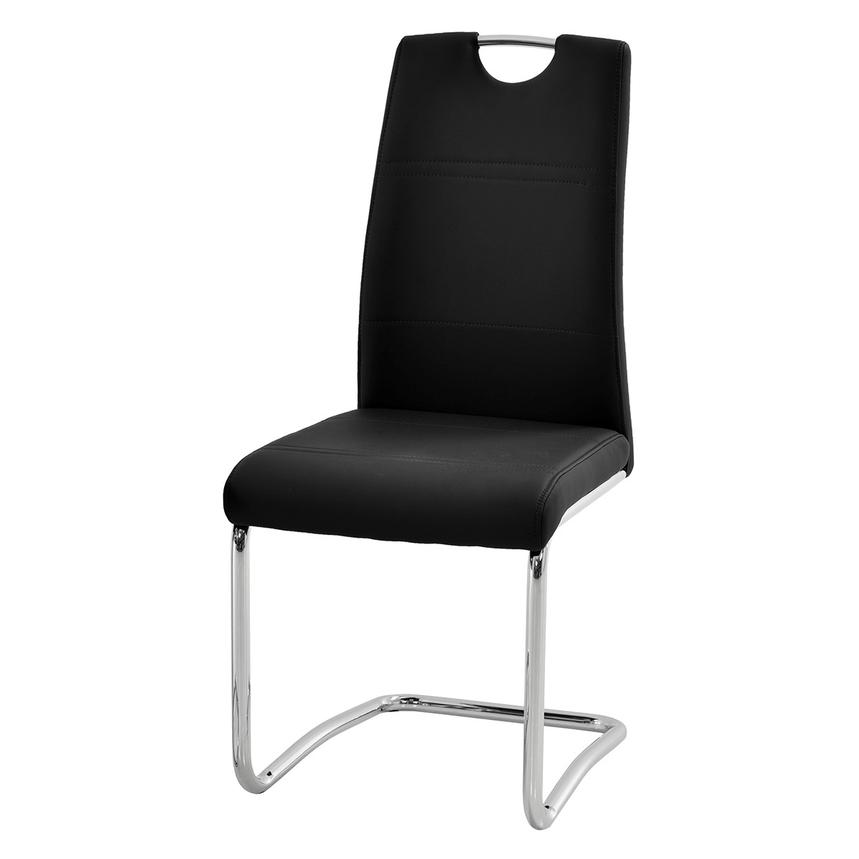 Lila Black Side Chair  alternate image, 2 of 6 images.