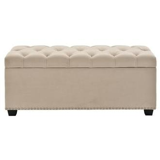 Majestic Beige Storage Bench