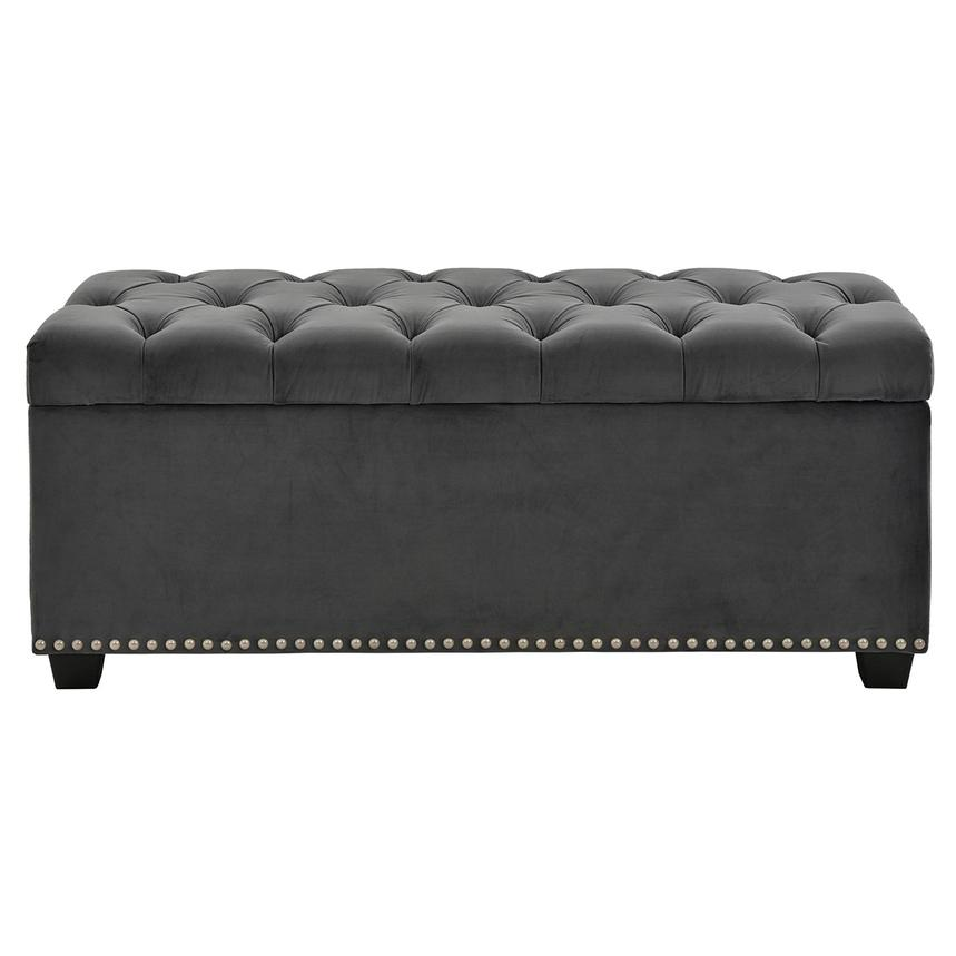 Gray Storage Bench Amazing Majestic Gray Storage Bench El Dorado Furniture