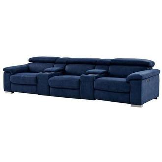 Kathan Blue Home Theater Seating