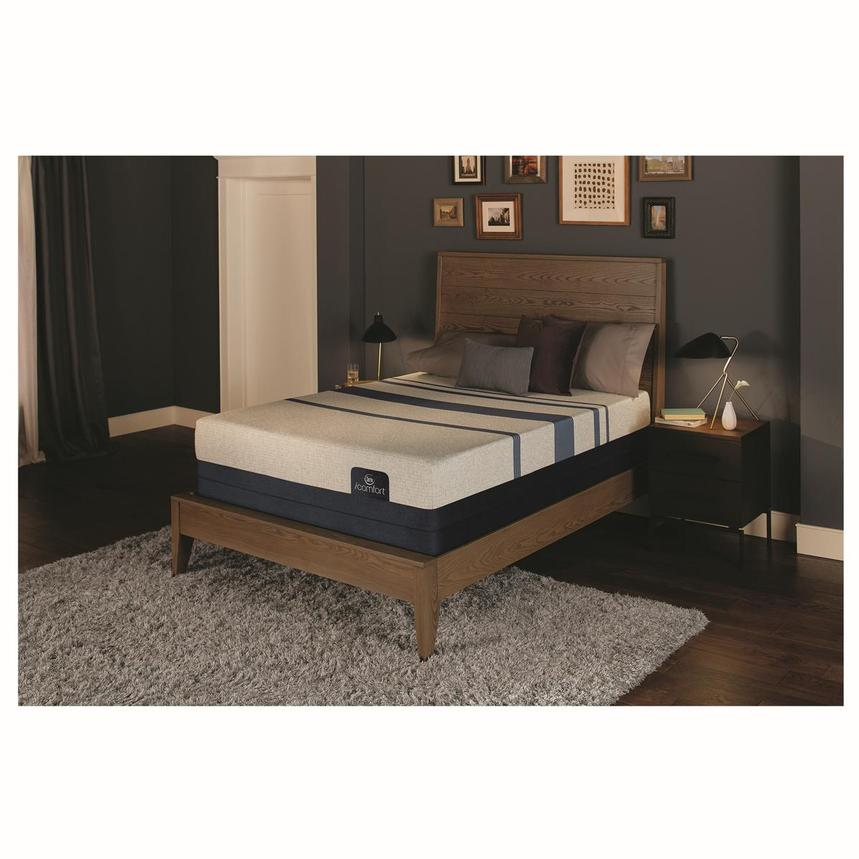 iComfort Blue 300 Twin XL Mattress w/Low Foundation by Serta  alternate image, 2 of 4 images.