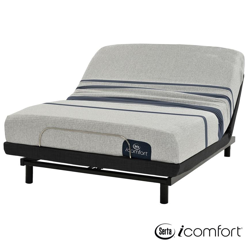 iComfort Blue 100 Full Mattress w/Essentials III Powered Base by Serta  main image, 1 of 6 images.