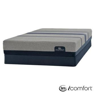 iComfort Blue Max 1000 Cushion Firm Twin XL Mattress w/Low Foundation by Serta
