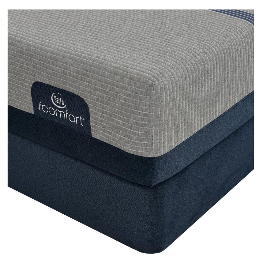 iComfort Blue Max 1000 Cushion Firm Full Mattress w/Low Foundation by Serta  alternate image, 2 of 3 images.