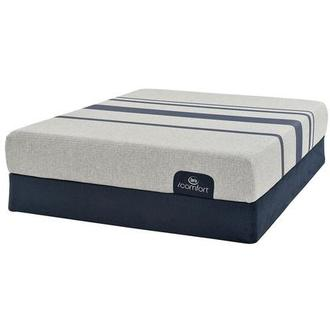 iComfort Blue 100 Twin Mattress w/Regular Foundation by Serta