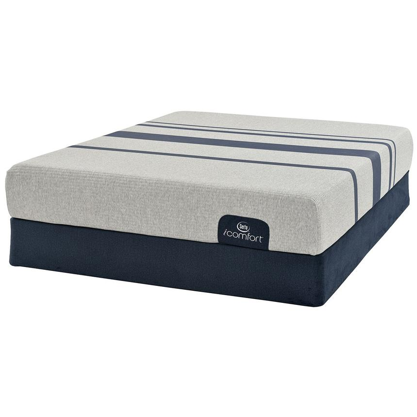 iComfort Blue 100 Queen Mattress w/Regular Foundation by Serta  alternate image, 3 of 5 images.