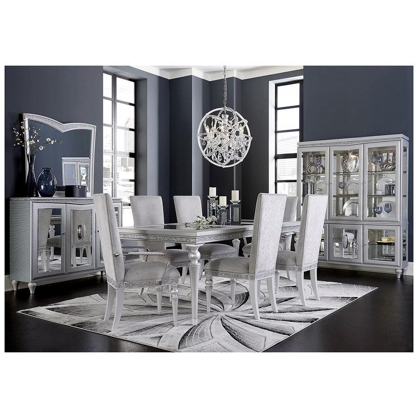 melrose 5 piece formal dining set el dorado furniture. Black Bedroom Furniture Sets. Home Design Ideas