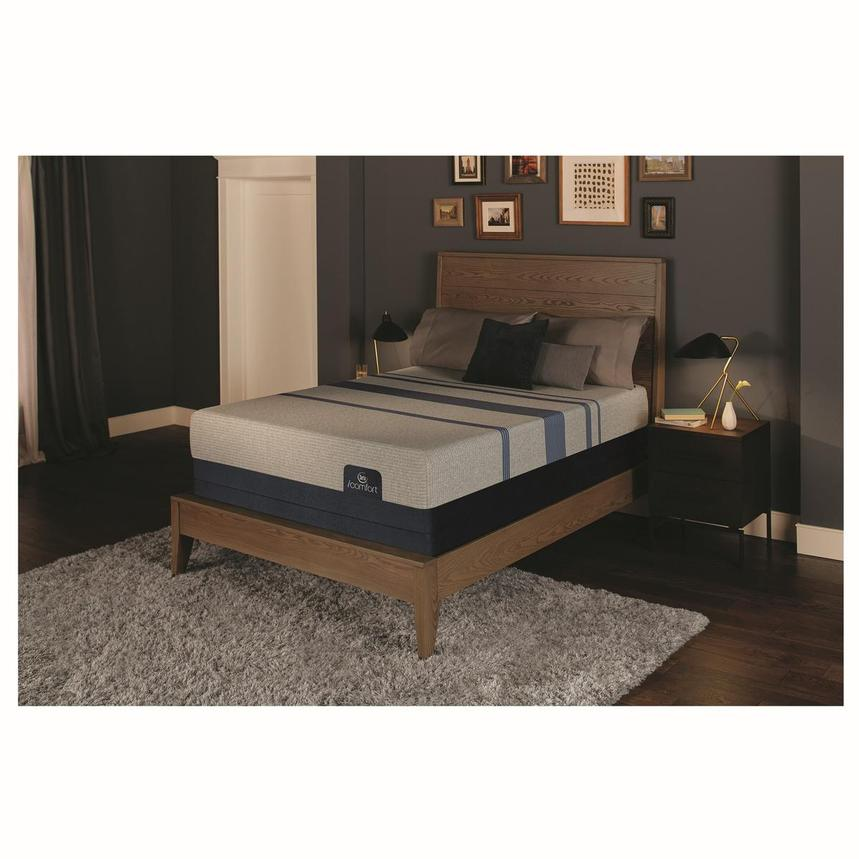 iComfort Blue Max 1000 Plush King Mattress w/Low Foundation by Serta  alternate image, 2 of 4 images.