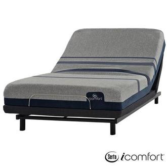 iComfort Blue Max 1000 Plush King Mattress w/Essentials III Powered Base by Serta