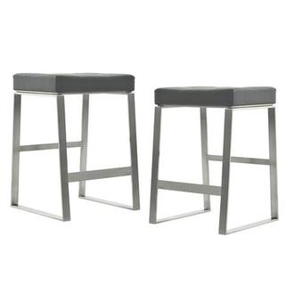 Sabriel Gray Counter Stool
