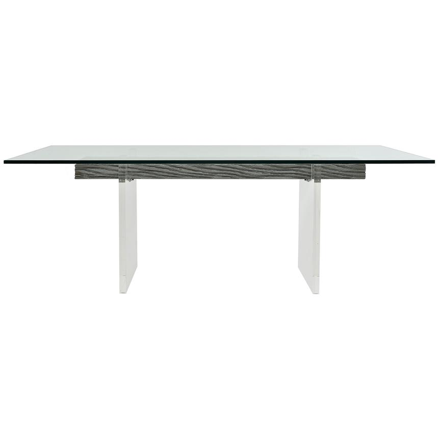 Miami Beach Gray Rectangular Dining Table  main image, 1 of 4 images.