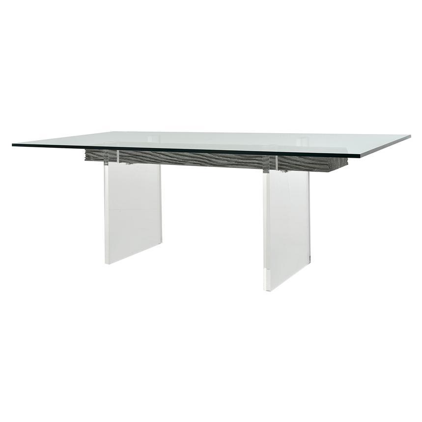 Miami Beach Gray Rectangular Dining Table El Dorado Furniture - Conference table miami