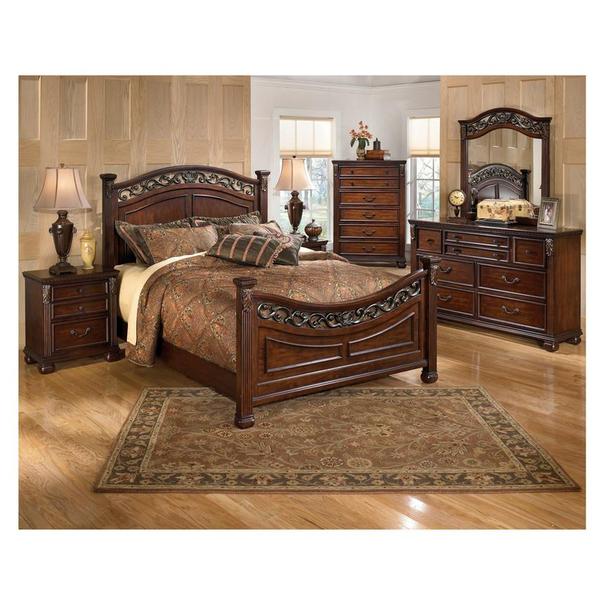 Leahlyn 4 Piece Queen Bedroom Set Alternate Image, 2 Of 7 Images.