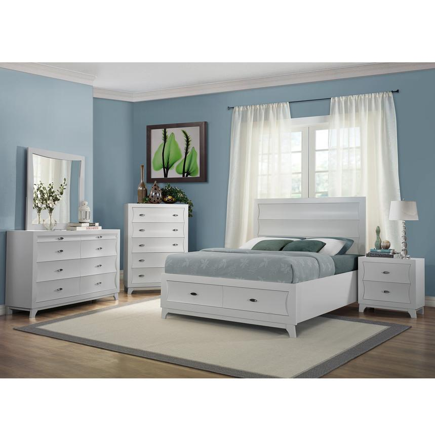 Whiteaker 4-Piece Queen Bedroom Set | El Dorado Furniture