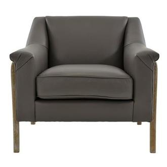 Dana Leather Accent Chair