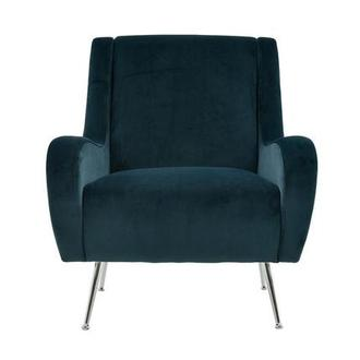 Margot Blue Accent Chair