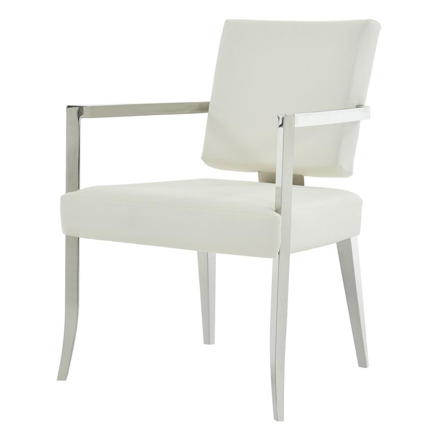 Tina White Arm Chair  alternate image, 2 of 6 images.