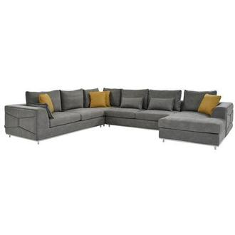 Grigio Sofa w/Right Chaise