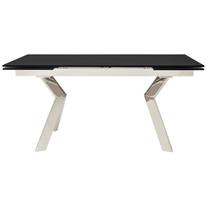 Lynne Black Extendable Dining Table Main Image 1 Of 8 Images