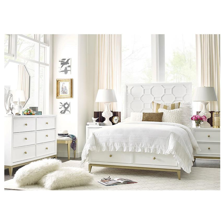 Rachael Rays Uptown Full Storage Bed El Dorado Furniture