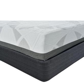 Etna Twin Memory Foam Mattress w/Low Foundation by Carlo Perazzi
