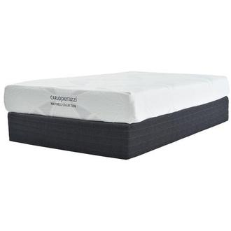 Denali Twin Memory Foam Mattress w/Regular Foundation by Carlo Perazzi