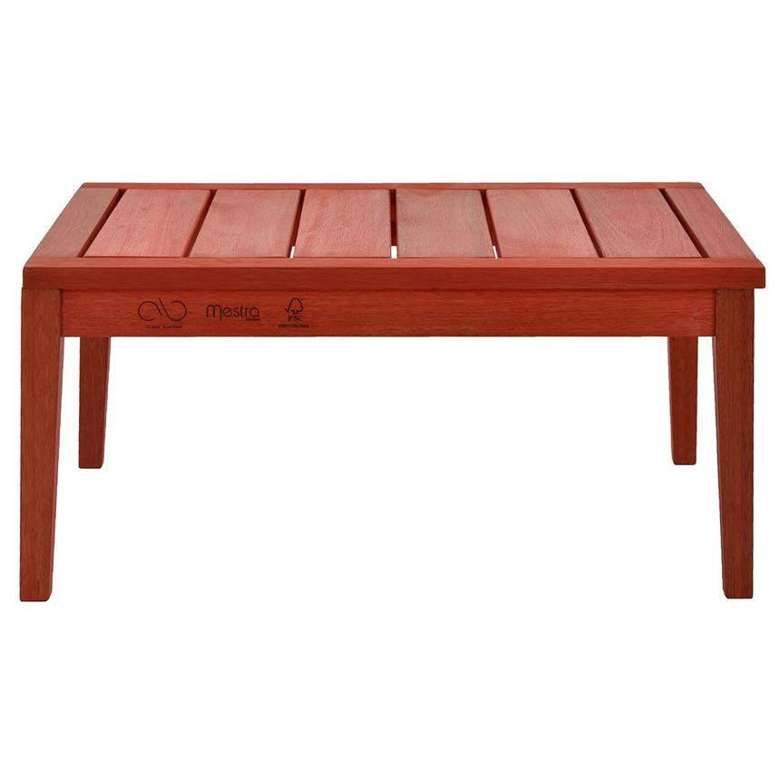 Nassau Red Coffee Table Made in Brazil  main image, 1 of 6 images.