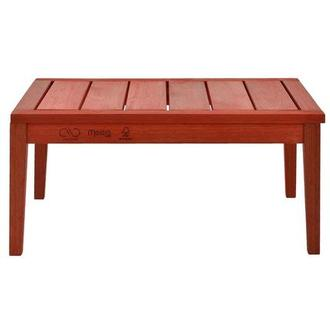 Nassau Red Coffee Table Made in Brazil