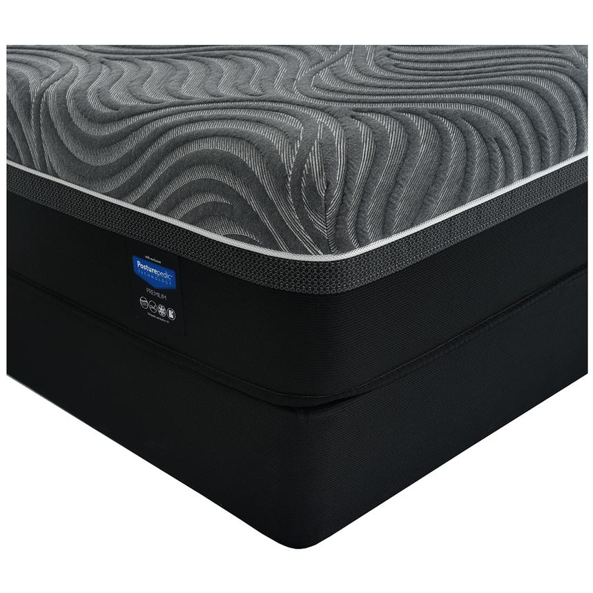 Silver Chill Queen Mattress W Low Foundation By Sealy