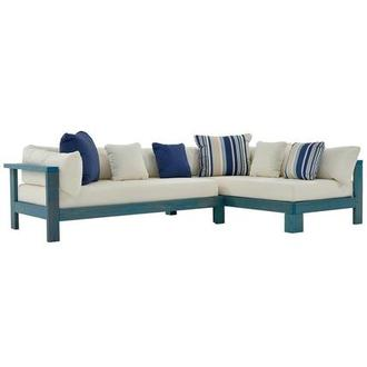 Jane Blue Sofa Made in Brazil