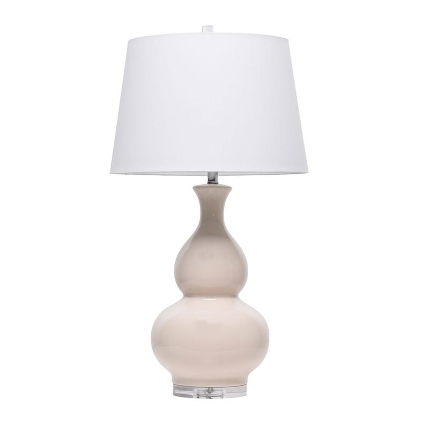 Valero cream table lamp main image 1 of 4 images
