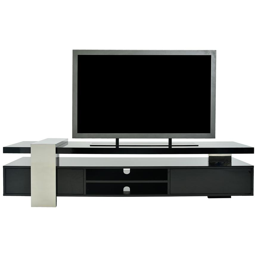 Totem Black TV Stand  main image, 1 of 9 images.