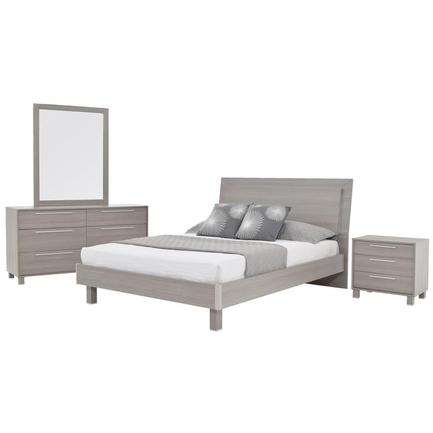 Pulse 4 Piece Queen Bedroom Set El Dorado Furniture