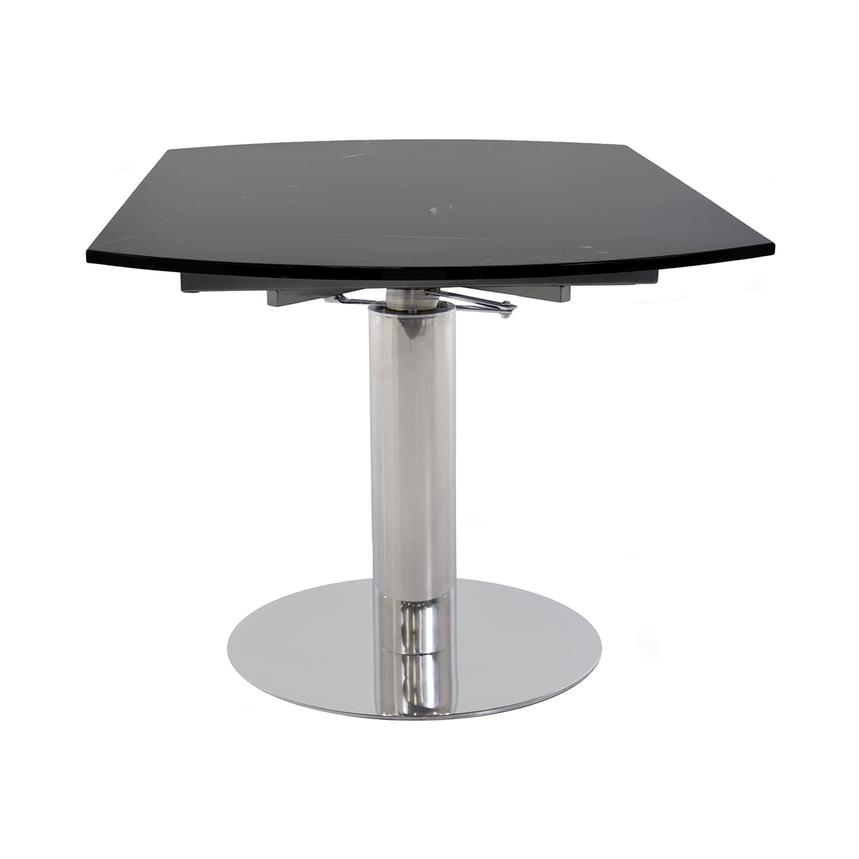 Tami Black Extendable Dining Table El Dorado Furniture