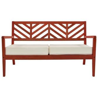 Nassau Red Loveseat Made in Brazil