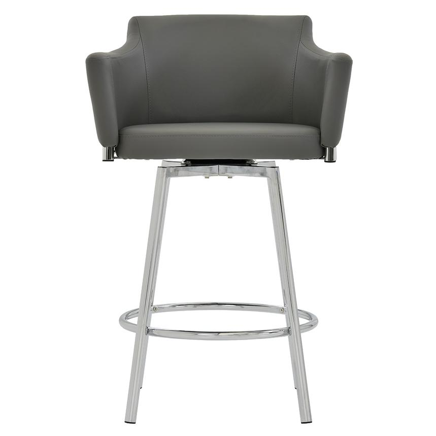 Dusty Gray Swivel Counter Stool  main image, 1 of 6 images.