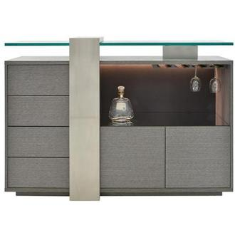 Totem Gray Bar Cabinet